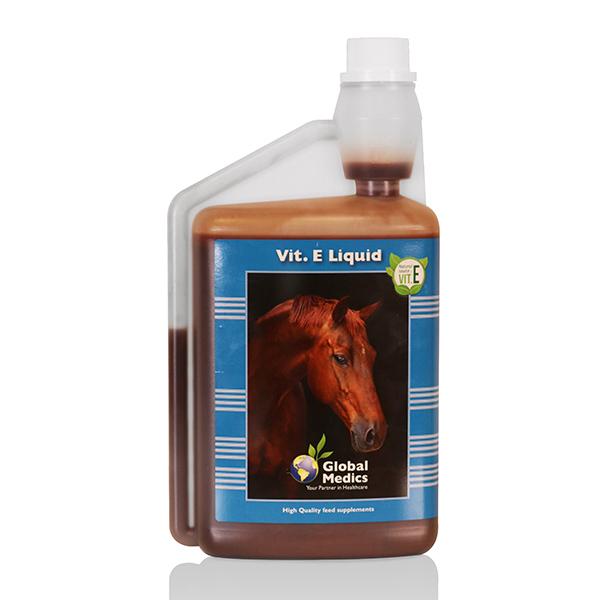 Vitamine E paard supplement spieren vloeibaar
